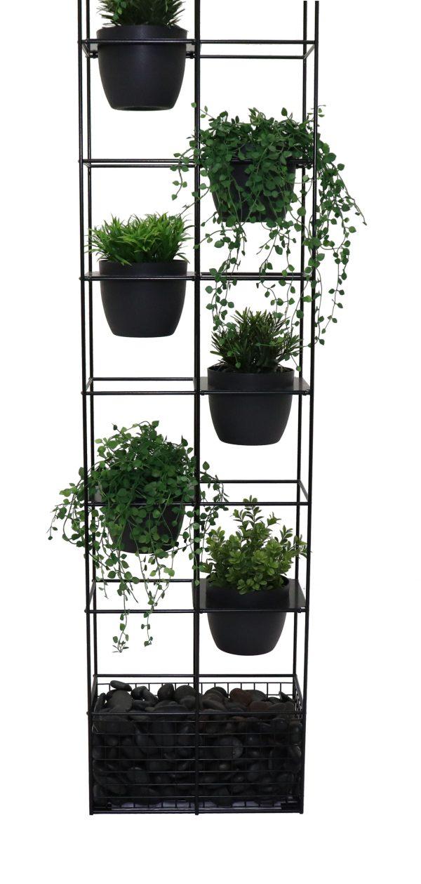 Black Bloom Vertical Indoor Garden