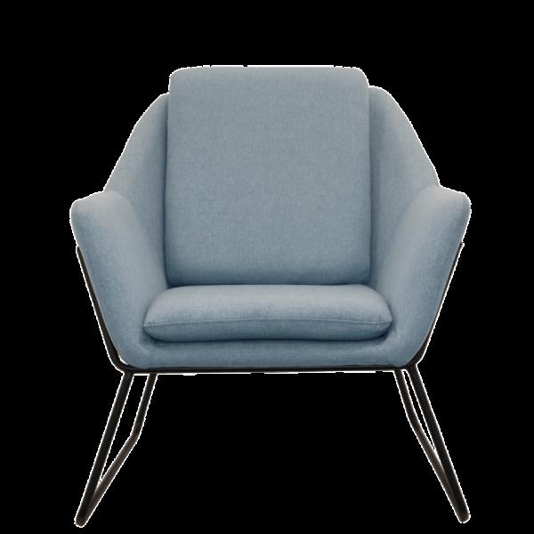 Cardinia Single Arm chair blue