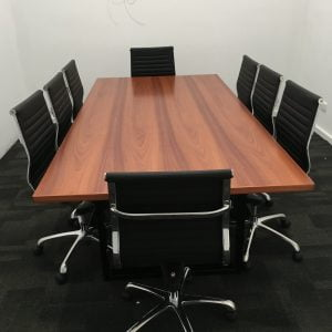 Custom Jarrah Boardroom table