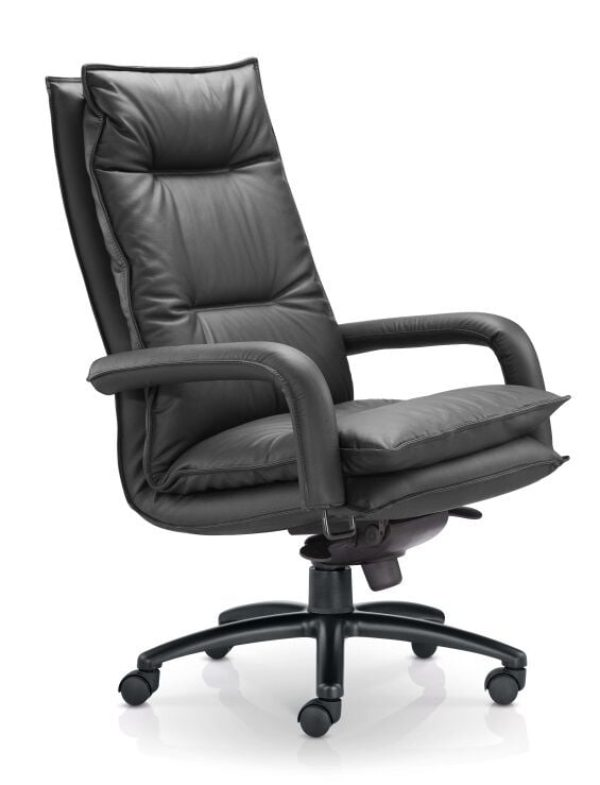 Blisso Padded seat & back Black Chair