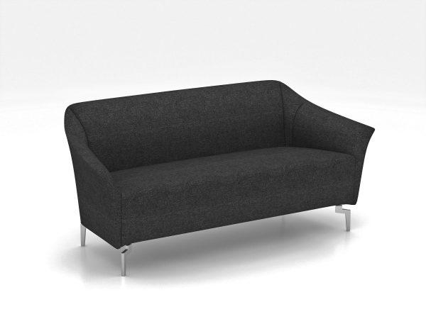 Veniceo Charcoal Sofa Chair