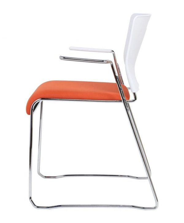 Chrom Finish Lumonia Chair