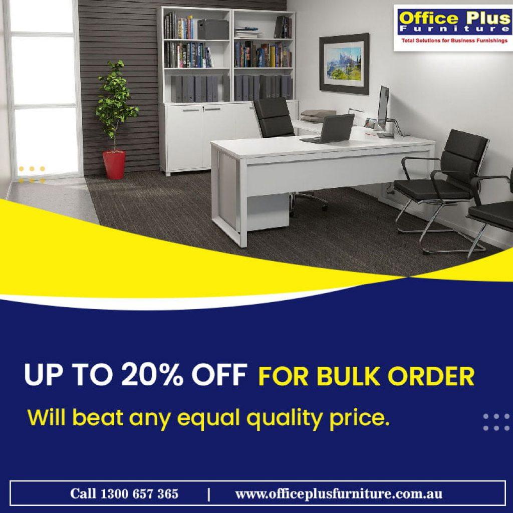 office plus furniture sale